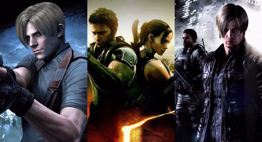 El resurgir de Resident Evil 4, 5 y 6