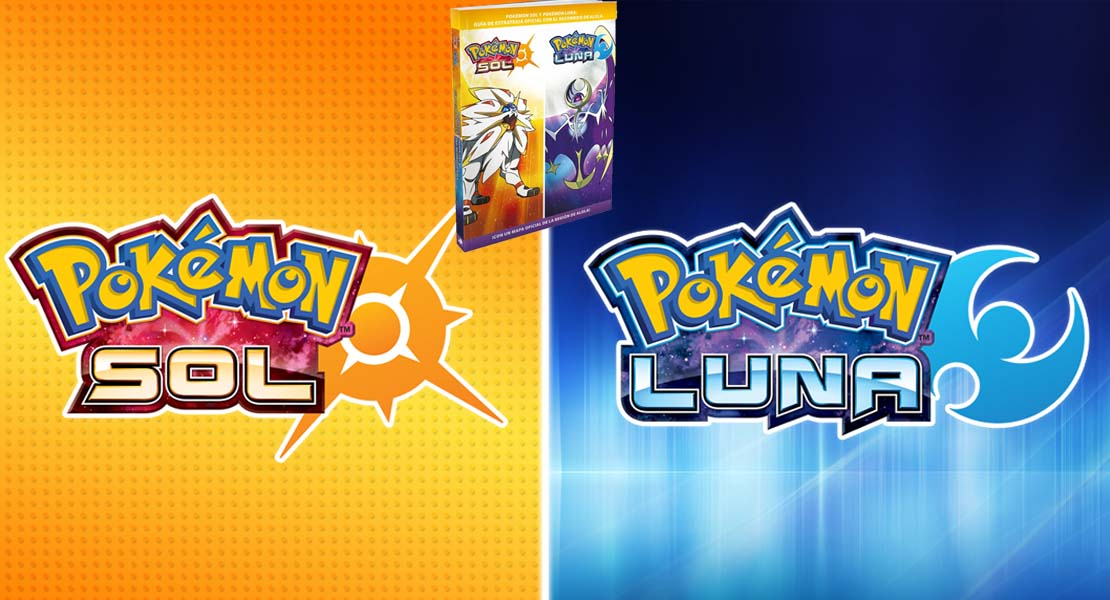 Así es la guía Oficial de Pokémon Sol/Luna