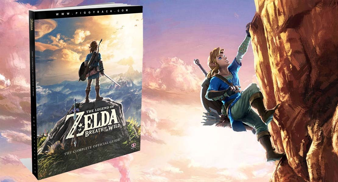 Así es la guía Oficial de Zelda Breath of the Wild