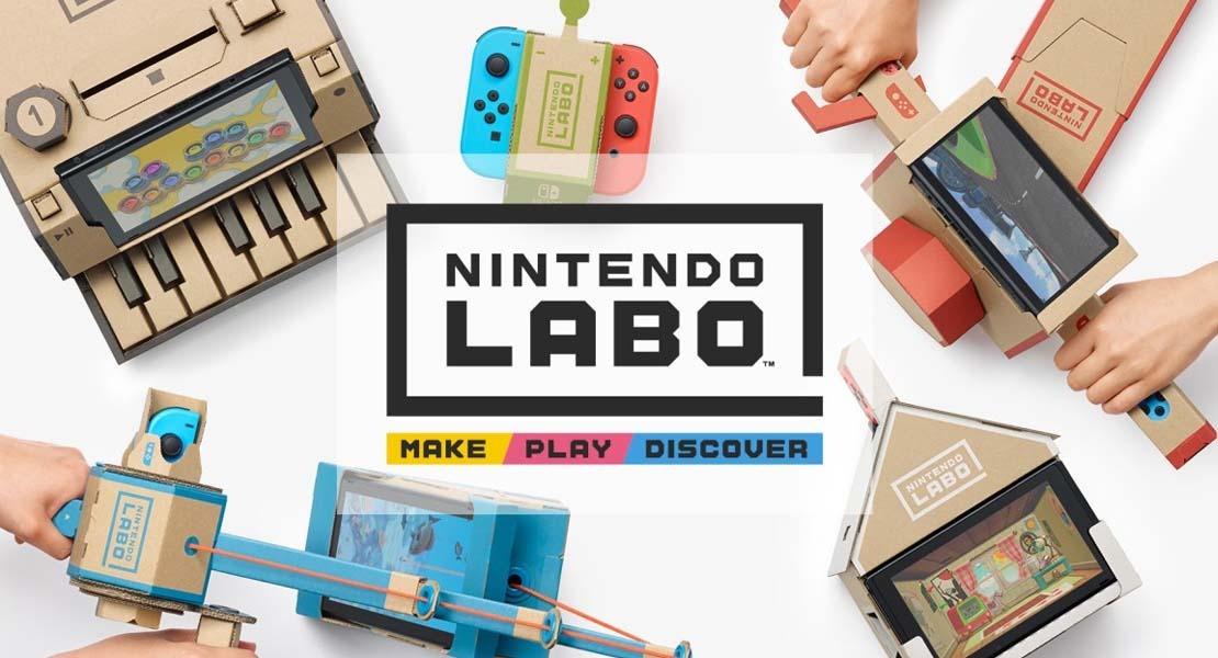 Nintendo Labo - La Era del Recortable