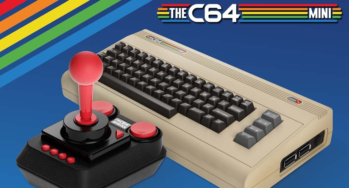 The C64 Mini - Nostalgia a golpe de píxeles