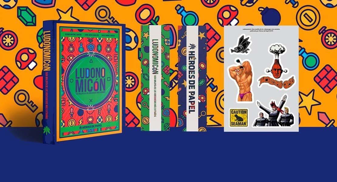 Leemos Ludonomicón, un libro lleno de juegos muy peculiares