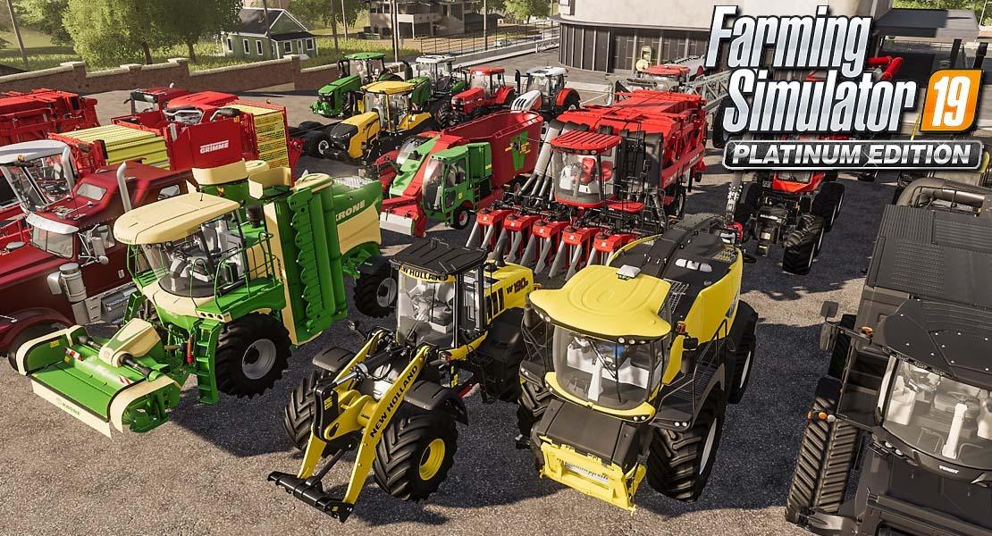 Farming Simulator 19: Platinum Edition - Toca recoger la cosecha