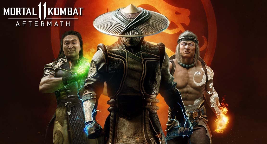 Mortal Kombat 11: Aftermath - Vivo o muerto usted vendrá conmigo