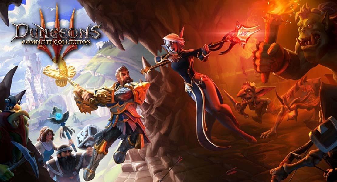 Dungeons 3: Complete Collection - Un surtido de maldad