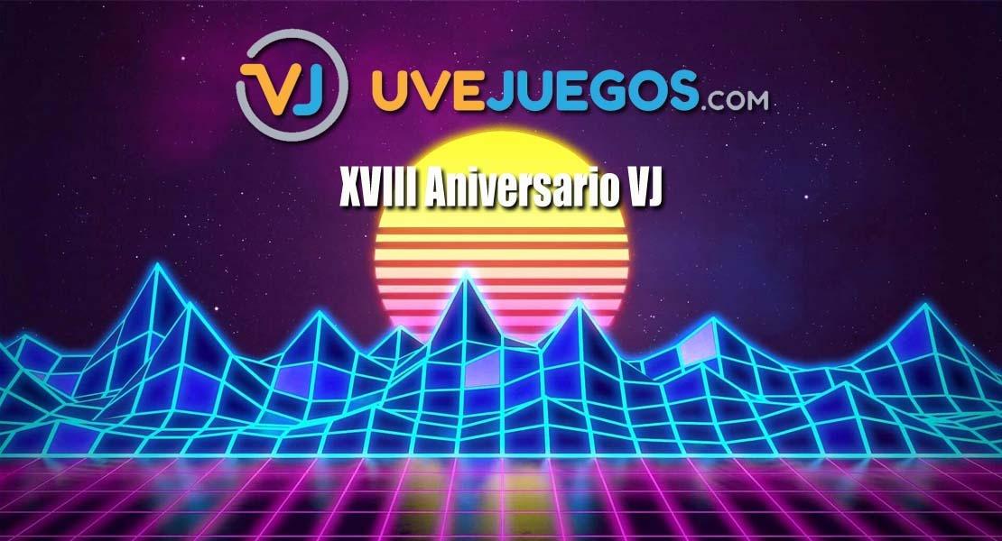 XVIII Aniversario de uVeJuegos