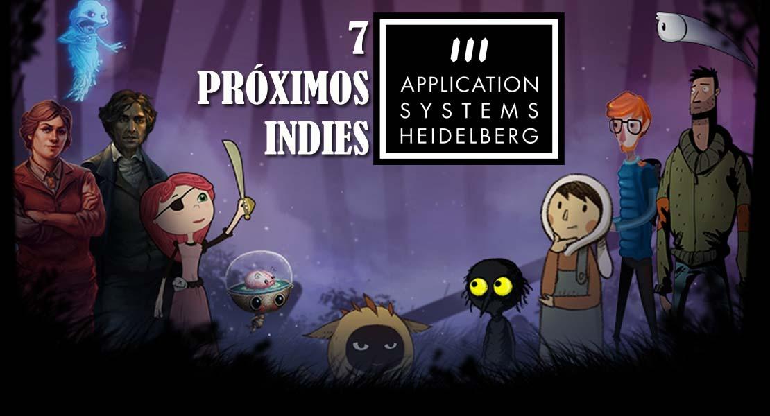 7 próximos indies de Application Systems Heidelberg
