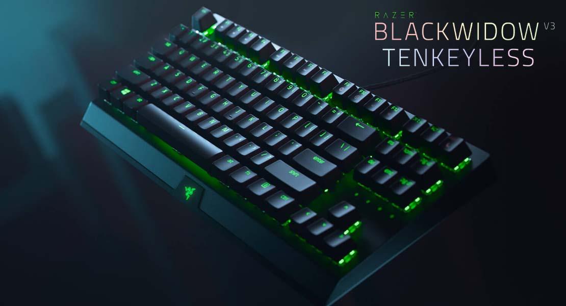 Razer Blackwidow V3 Tenkeyless - Contundencia mecánica