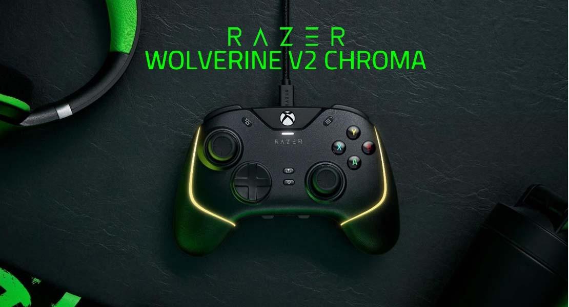 Razer Wolverine V2 Chroma - El némesis del mando Elite ya está aquí