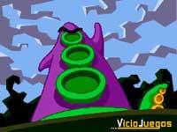 Púrpura, cual villano de una película de James Bond, quiere... ¡¡¡Dominar el mundo!!!