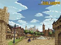 El precioso Reino de Cleria, el primer lugar que visitaremos.