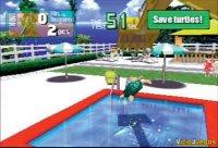Lo más normal del mundo, usar una excavadora para sacar tortugas de las piscinas