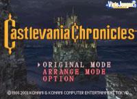 Análisis de Castlevania Chronicles para PSOne: Las crónicas de Simon Belmont