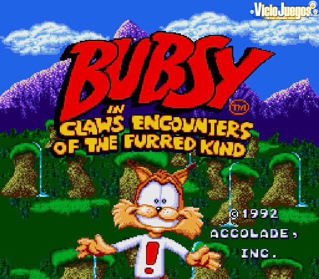 Qué guapo eres, Bubsy