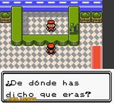 Todas las imágenes o capturas de Pokémon Oro para Game Boy Color