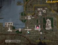 El mapa nos será de ayuda para encontrar el objetivo.