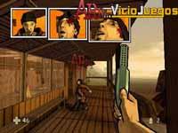 Cuando se mata a un enemigo su muerte aparece repesentada en viñetas. Muy explícito.