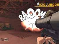 Las onomatopeyas son una de las aportaciones mas originales del juego.