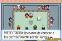 Los concursos Pokémon son otra forma de luchar.