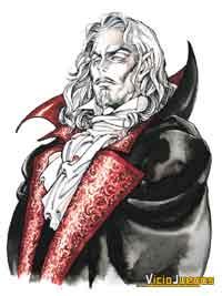 Dracula, observad el toque plenamente europeo de su diseño