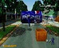 Cuando completamos el juego, Pepsiman alcanza la inmortalidad y jugamos con 99 vidas