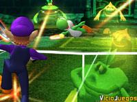 Avance de Mario Power Tennis: Practica el revés a dos manos, mejora tu saque