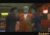 Aunque luchan hasta el límite, al final Cody es secuestrado por esos tipos