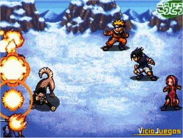 Duelo ninja en territorio táctil