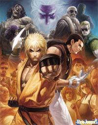 Avance de Art of Fighting Anthology: Kyokugen Karate