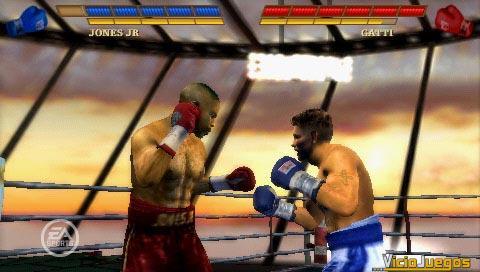 El rey del k.o. llega a PlayStation Portable