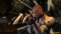 """""""ME"""" es una curiosa mezcla entre combates en tiempo real y un shooter."""