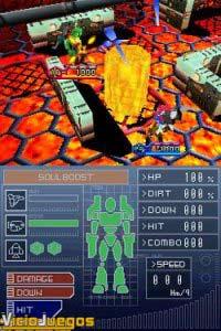 Imagen/captura de Custom Robo Arena para Nintendo DS