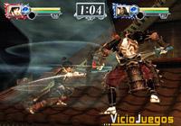 Un enfrentamiento mítico, vemos las armas características de Yubei