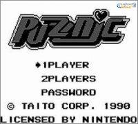 Imagen/captura de Puzznic para Game Boy