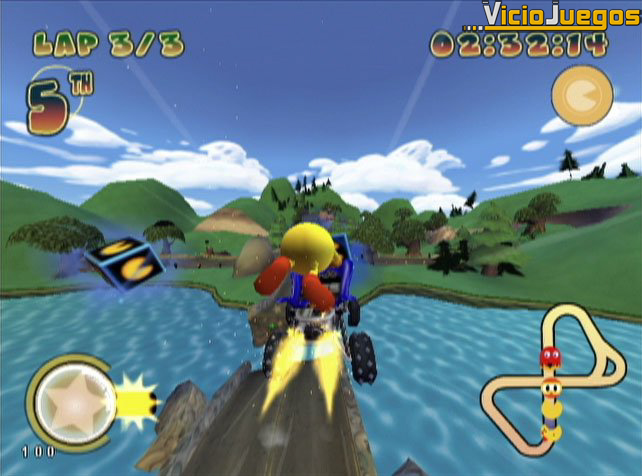 Pac-Man se pone al volante