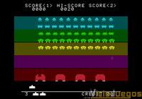 Space Invaders DX, ahora en colores.