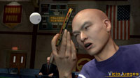 Liu Ping es uno de los jugadores más temibles gracias a su técnica.