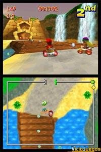 Las dos pantallas se utilizarán de modo similar al visto en el genial Mario Kart DS