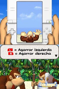 Imagen/captura de Donkey Kong: Jungle Climber para Nintendo DS
