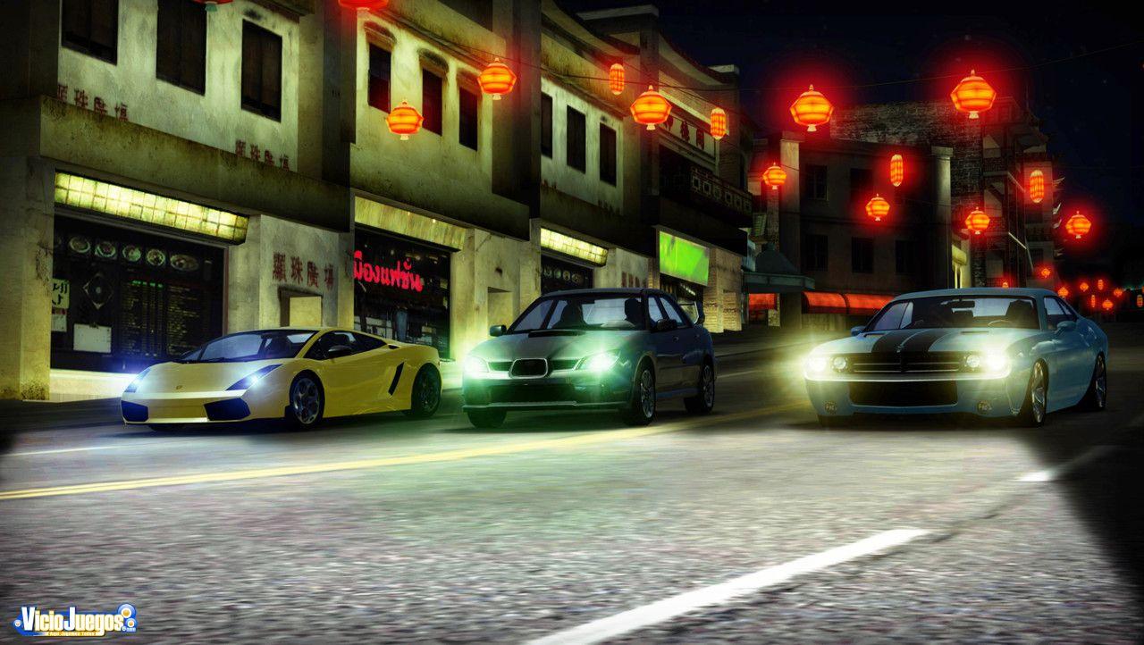 Las carreras nocturnas se estrenan en PS3