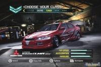 Ahora, antes de elegir coche, tendremos que elegir una categoría.