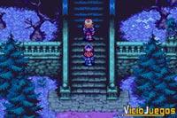 Estos dos chicos no saben lo que les espera en el castillo.
