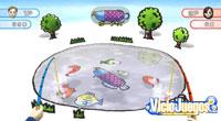 El minijuego de pesca posee una mecánica similar a la de Animal Crossing