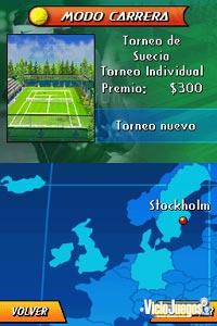 Imagen/captura de Rafa Nadal Tennis para Nintendo DS
