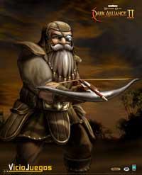Borador, uno de los nuevos personajes en Baldur's Gate Dark Alliance II