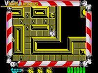 El primer nivel ya lo conoceis: el mismo que el del clásico Pac-Man