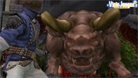 El minotauro, uno de los jefes finales a los que deberemos enfrentarnos en RoB