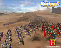Avance de The History Channel: Great Battles of Rome: Si vis pacem, para bellum