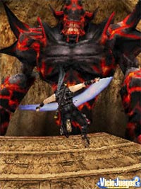 Imagen/captura de Ninja Gaiden: Dragon Sword para Nintendo DS