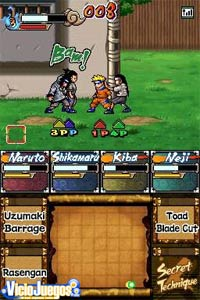 Imagen/captura de Naruto Ninja Council European Version para Nintendo DS